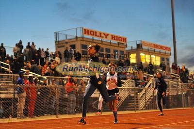 Girls' 200 Final - 2013 Oakland County Track Meet