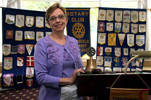 Roseann Nyiri new Springfield Rotary president