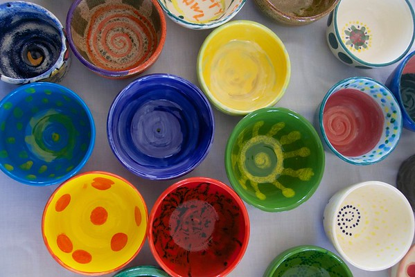Empty Bowls, Pomfret 2015