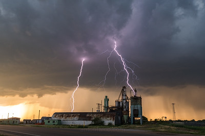 Chase Recap: June 1st, 2018. Ord, Nebraska Nocturnal Tornado.