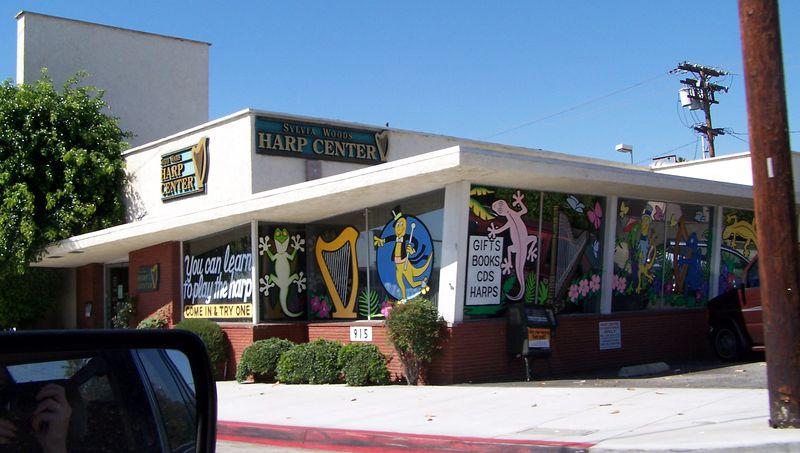 Monday: The Harp store.