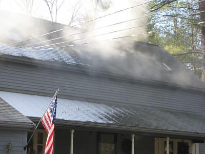72 North Street, Norfolk - Chimney Fire: January 26, 2007