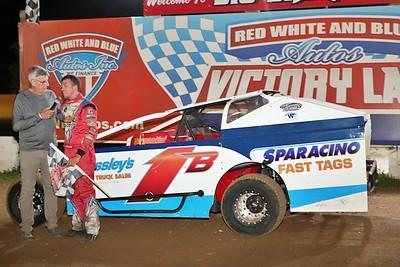 Big Diamond Speedway - 7-2-21 (Georgie Stevenson Mem/incl USAC