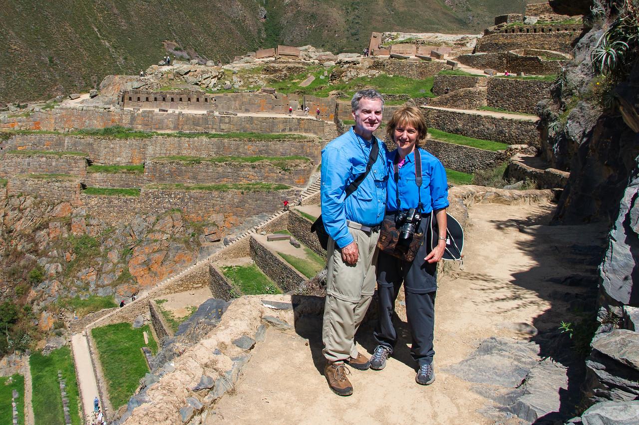 Ollantaytambo ruins, Sacred Valley.