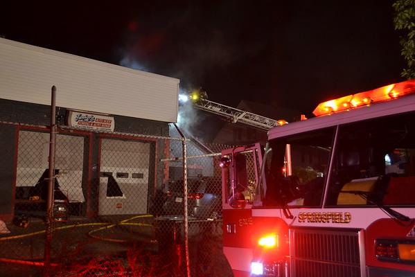 Working Fire 151 Pine Street, Springfield, MA 10/3/15