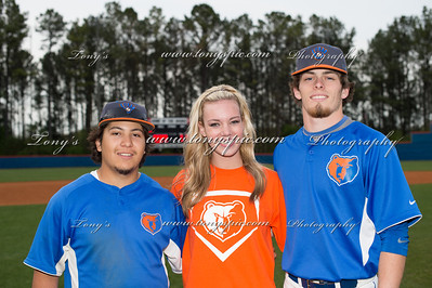 Baseball Senior Night 17 April 2014