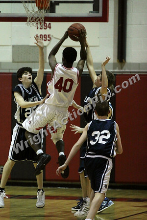2009 02 26 Freshman Basketball Game vs. Oak Park