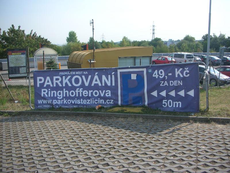 Park & Ride Zličín Metro IdyllicPrague
