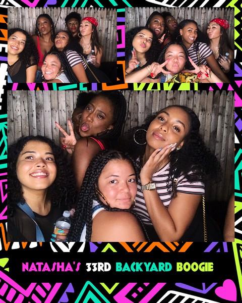 Natasha's 33rd Backyard Birthday