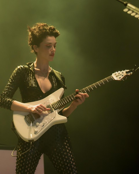 ST VINCENT AT THE XPONENTIAL CAMDEN NJ FOR GLIDE MAGAZINE