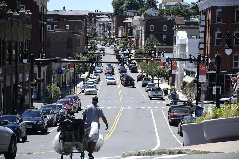 7/7/2018 Mike Orazzi | Staff Broad Street in New Britain Saturday.