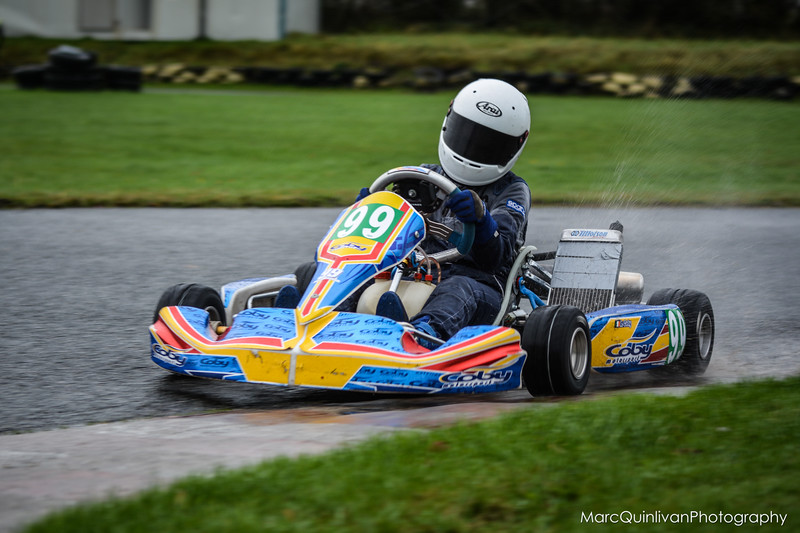 Leinster Karting Club - 2015 Winter Championship - Round 1 - Alyx Coby