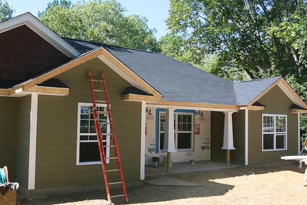 Habitat House Build - October 9
