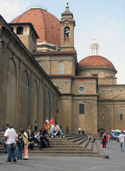Basilica of San Lorenzo.