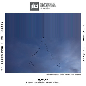 """23.08.2021 - """"Motion"""" exhibition in Budapest"""