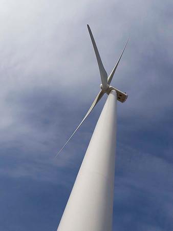 Amherst wind turbine farm