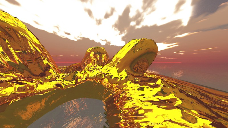 Gold Island 17 : A Computer Generated Image from Daily Animation