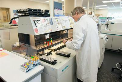 Bozeman Health Deaconess Hospital Lab Spaces