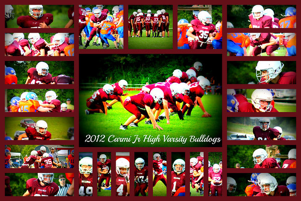 CARMI BULLDOGS AND BULLPUPS FOOTBALL 2012-2013