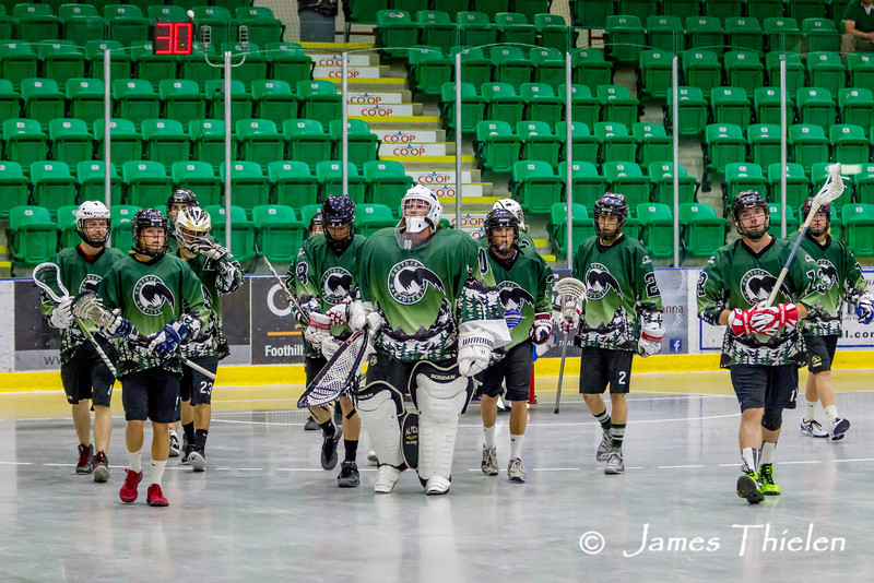Game, June 07, 2014 Okotoks Marauders vs Edmonton Warriors
