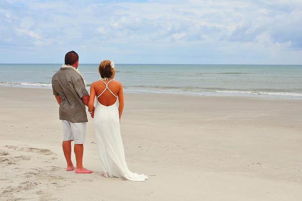 Emerald Isle North Carolina Wedding Photography- Eddie and Christy Harvey