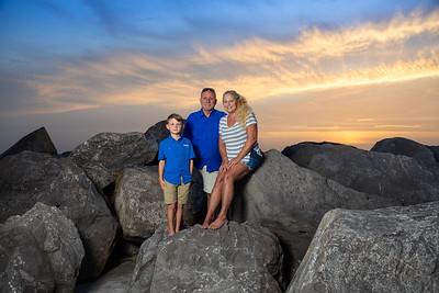 Micha, Teresa and Mike Panama City Beach
