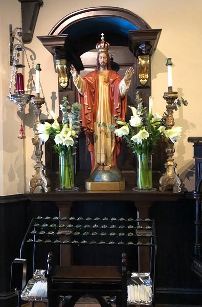 Shrine of the Sacred Heart, Easter Even