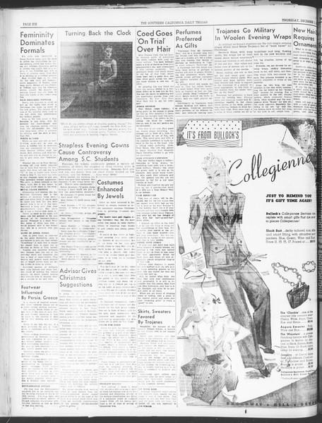 Daily Trojan, Vol. 30, No. 51, December 01, 1938