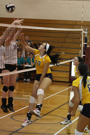 North Ridgeville vs Rocky River Volleyball 2011