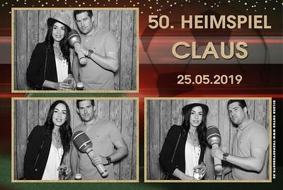 Claus 50.Heimspiel