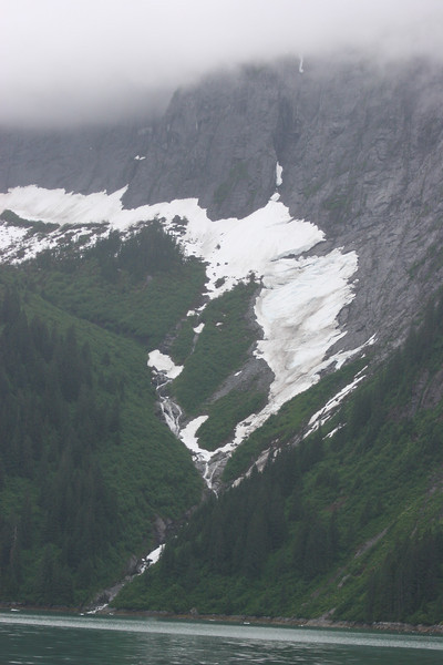 glacier/waterfalls
