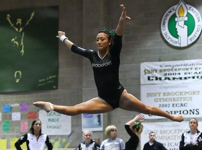 SUNY Brockport Gymnastics 1-22-11
