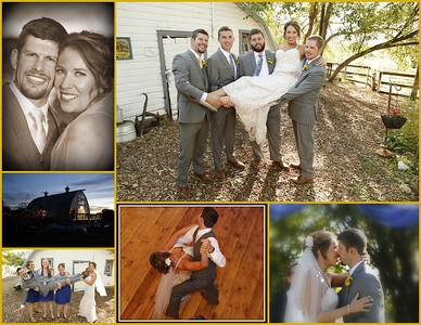 Kyle & Heather's # 2 Expanded Wedding Day Album