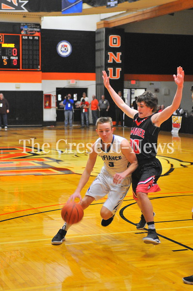 03-07-18 Sports D-II BBK district semi Defiance vs Shawnee @ ONU
