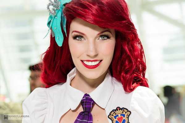 Ariel's First Day in School