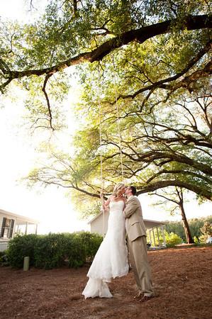 Brock and Cortney Wed