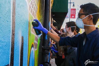 Spray-Paint Co-Curricular