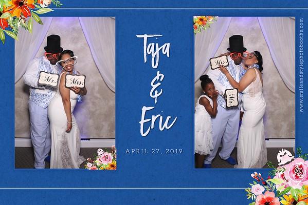 THE WEDDING TAJA AND ERIC