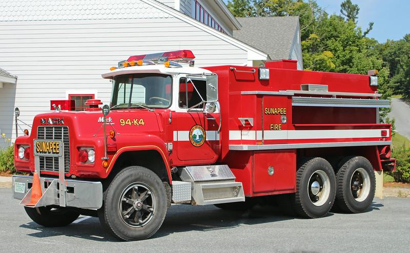 Retired  Tanker 4 1983 Mack 500 / 2500