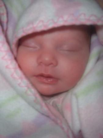 Kaylee Grace Bishop is Born