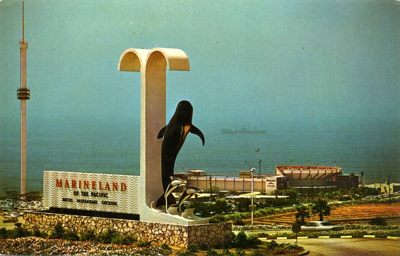 Marineland Dolphin Sign