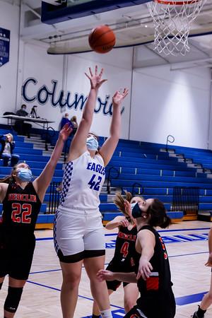 2/23/21 Girls Basketball vs Wesclin