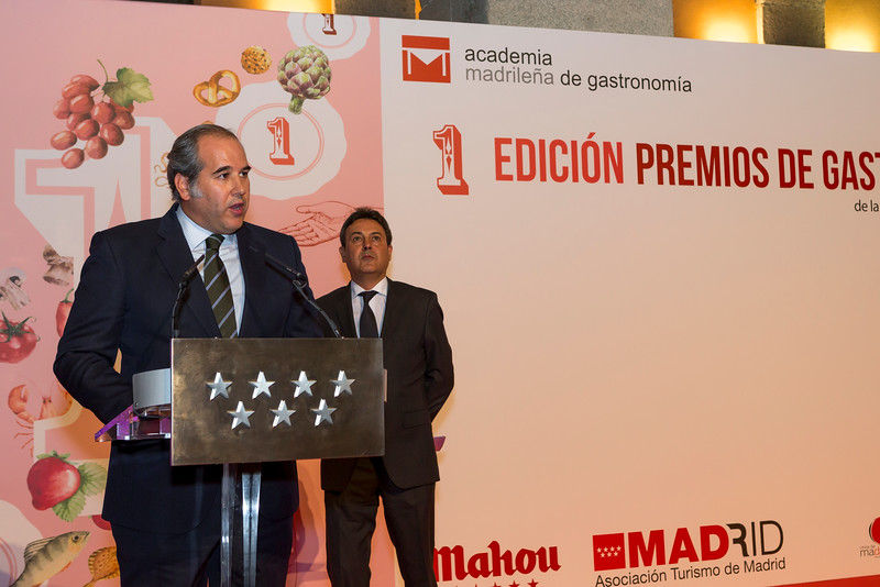 1º PREMIOS GASTRONOMIA COMUNIDAD DE MADRID