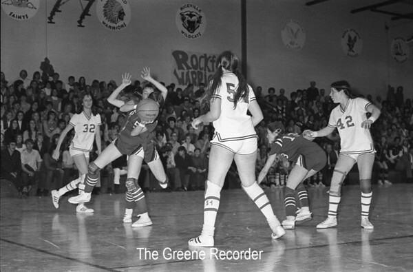 1973 Basketball Girls Games