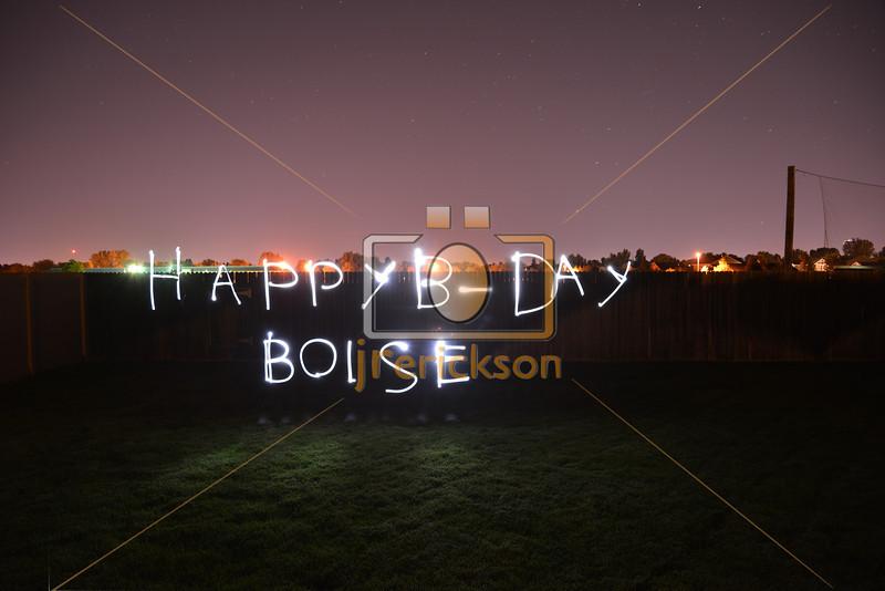 Happy Birthday Boise