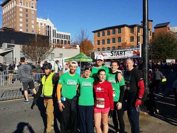 TreesGreenville Turkey Day 8k 11/27/2014