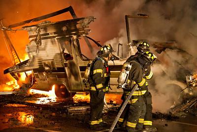 5-7-13 RV Fire Drill, CVFD Fire House