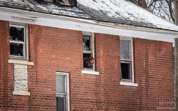 Detroit MI, House Fire 2-6-2020
