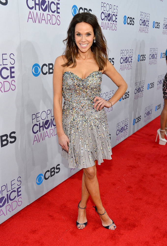. TV host Mary Kitchen attends the 39th Annual People\'s Choice Awards at Nokia Theatre L.A. Live on January 9, 2013 in Los Angeles, California.  (Photo by Frazer Harrison/Getty Images for PCA)