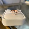 1.05ct Oval Cut Diamond Solitaire, GIA H SI1 30